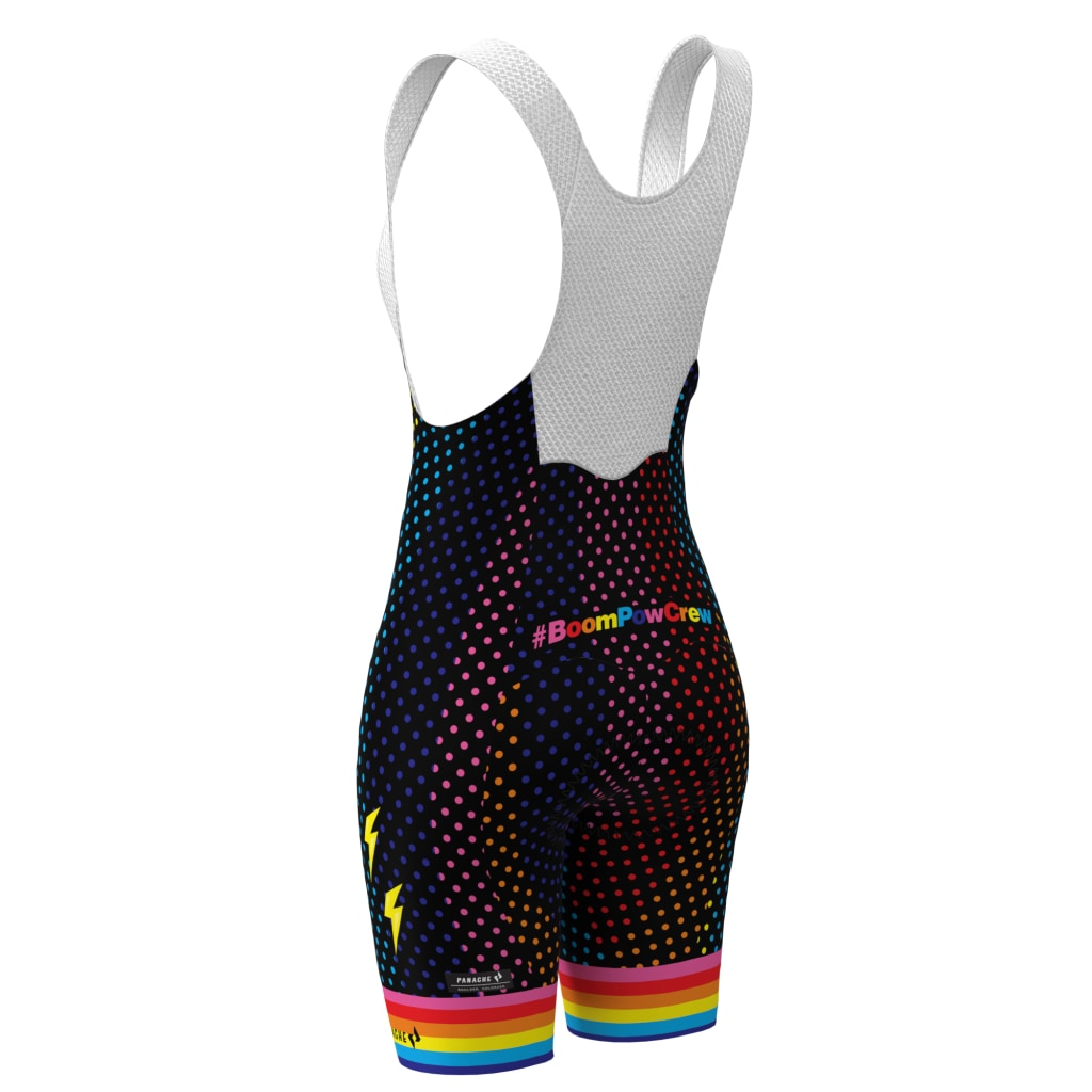 Pre-Order #boompowcrew Pro Bib Short - Women Bib Short