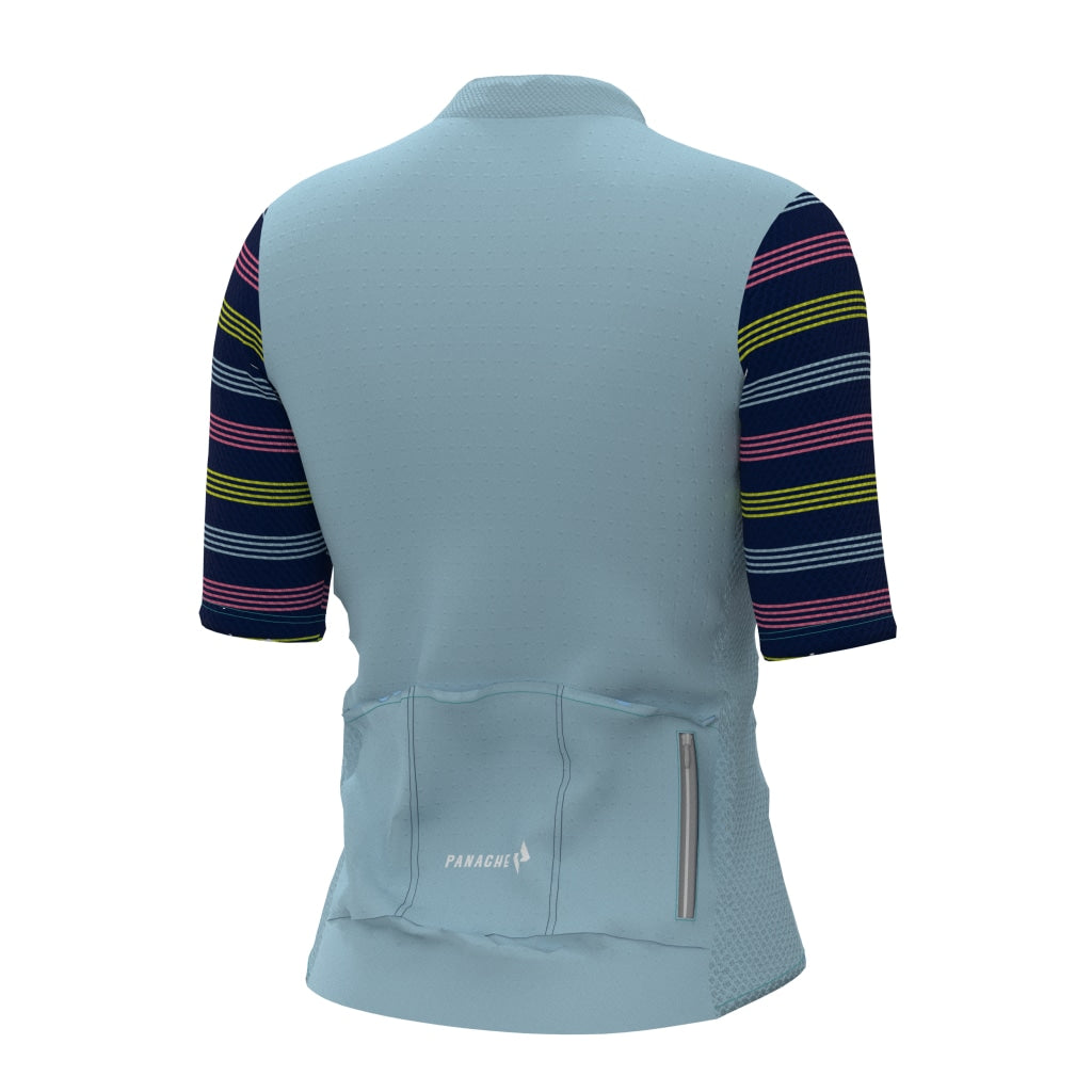 Sky Striped Pro Air Jersey Womens Ss