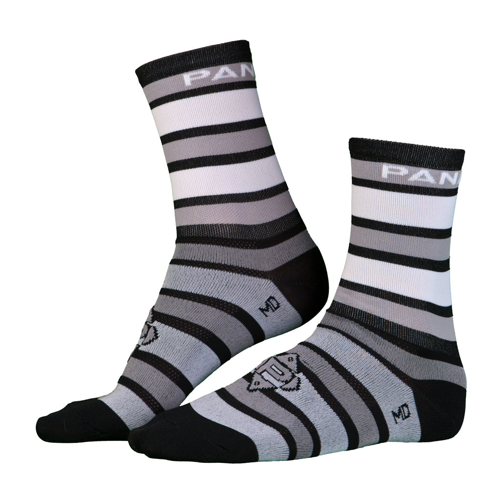 Got Stripes Socks (Grey/White)