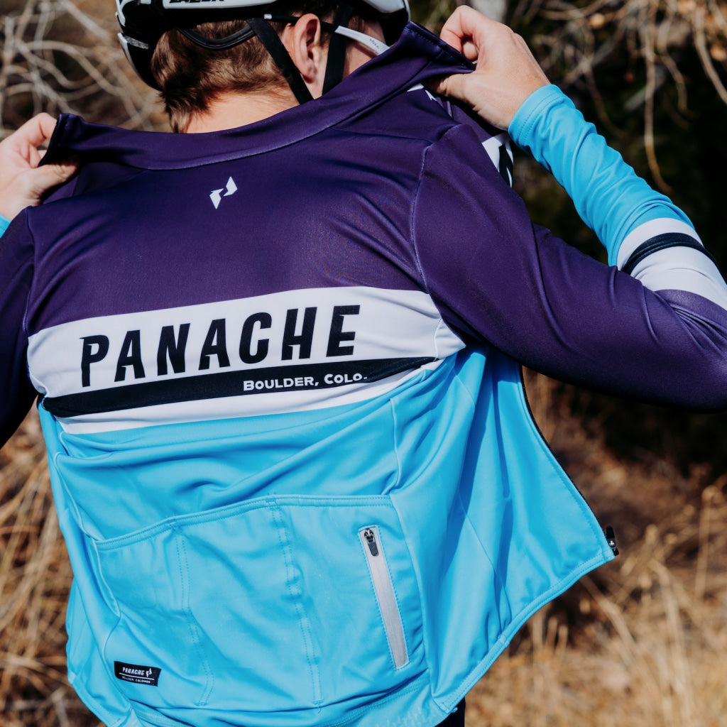 St. Panache Merlot - Pro Thermal Long Sleeve Jersey Long Air