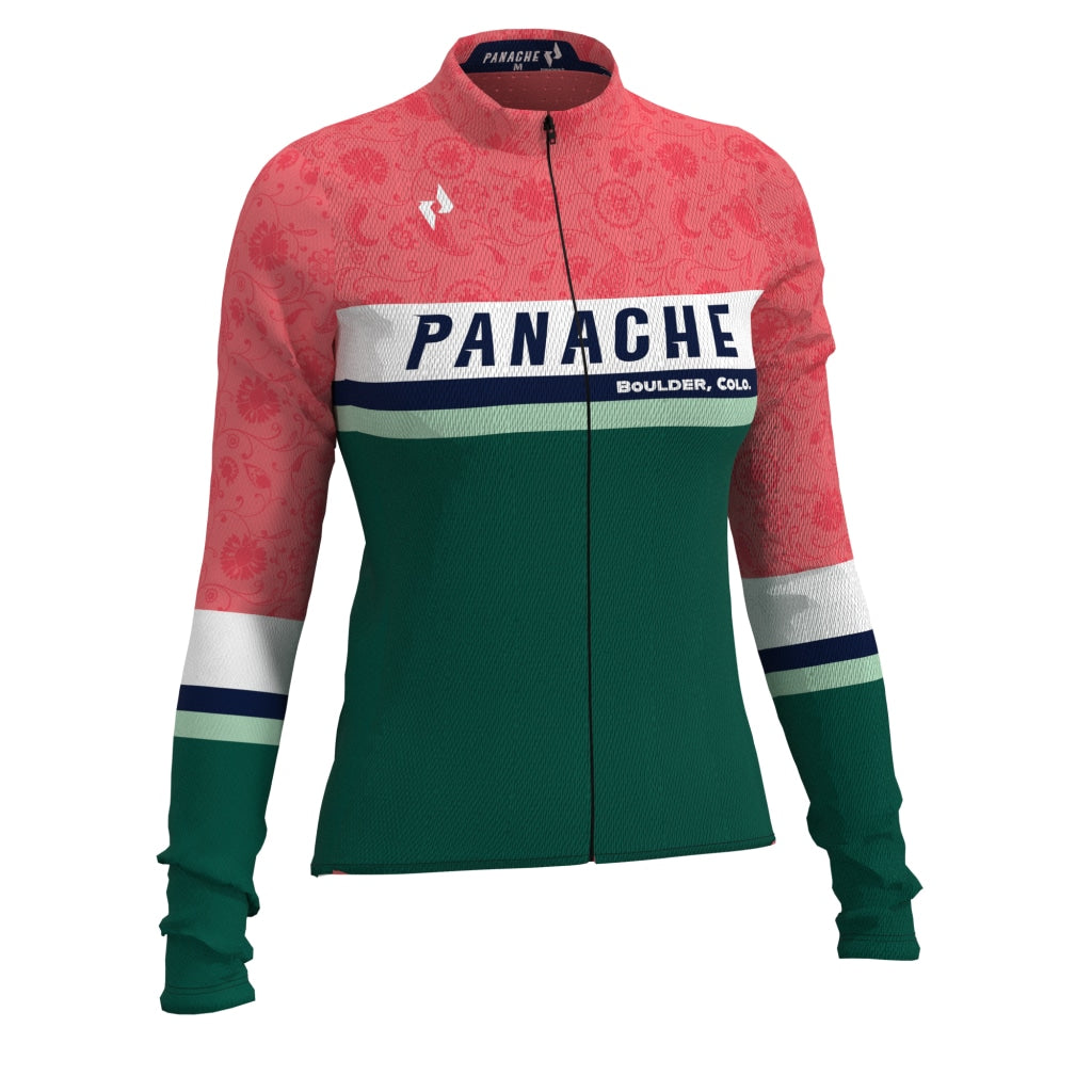 St. Panache Paisley - Ws Pro Thermal Long Sleeve Jersey Long Air W