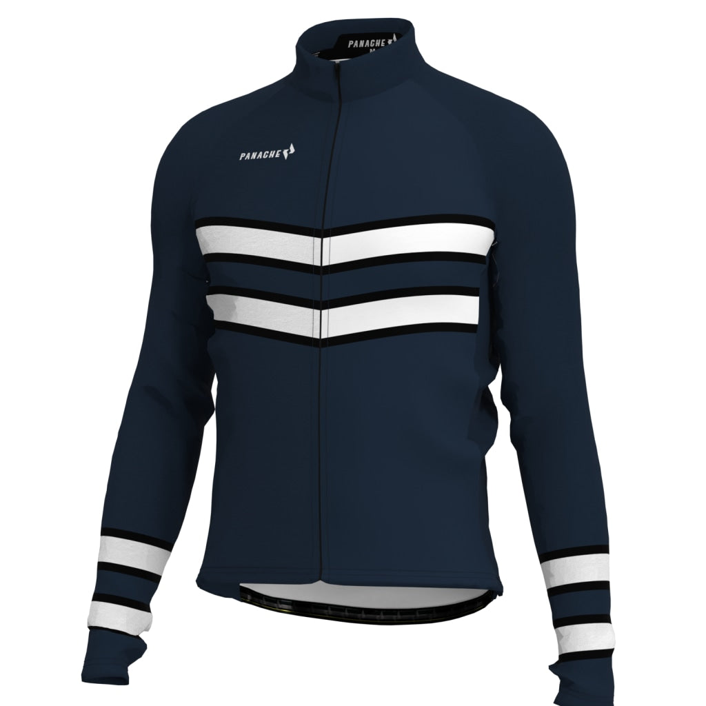 Steel Black - Thermal Long Sleeve Jersey Long Weight