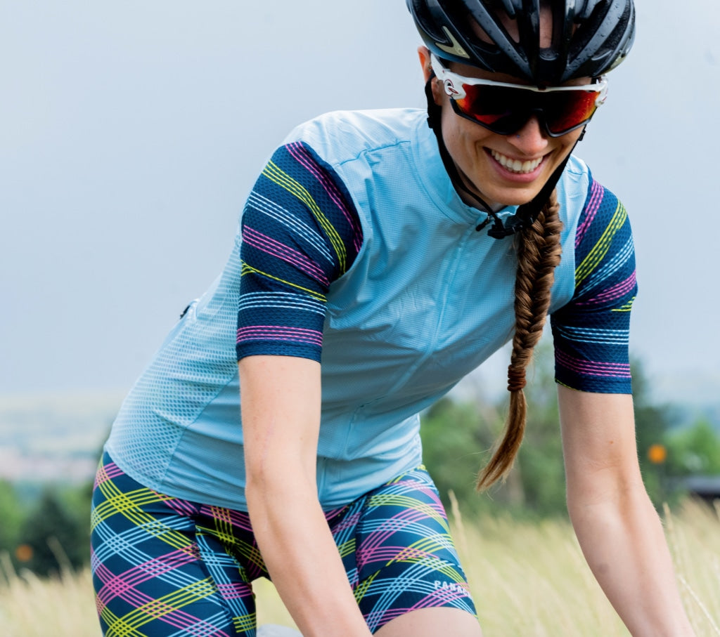 Ws Pin Stripe Pro Bib Short Womens