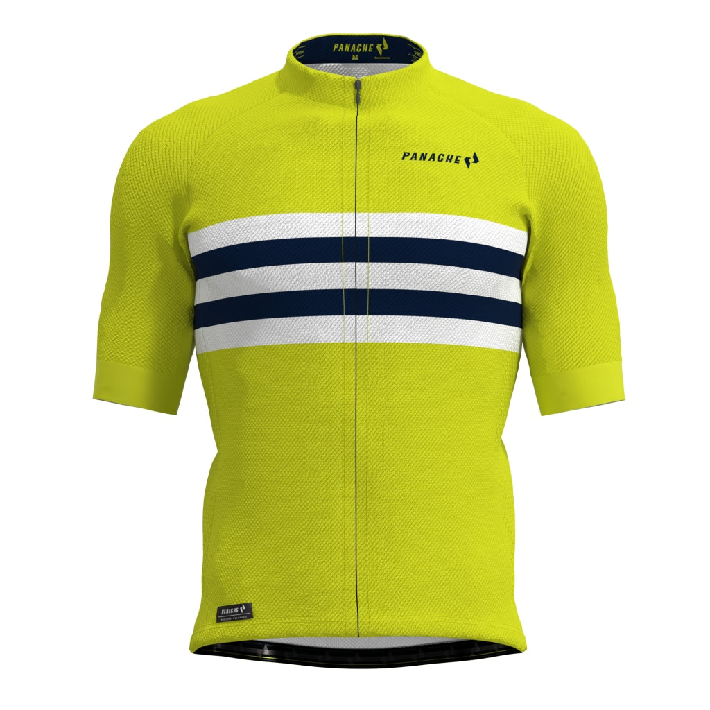 Yellow Zinger Pro Air Jersey Mens Ss