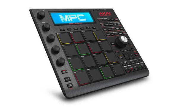 Akai Studio Black Compact MPC With Software