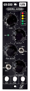 Lindell Audio 6X-500VIN 500 Series Mic Preamp/EQ