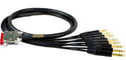 Mogami DB25-TRS 8-Channel Analog Interface Cable 20 foot