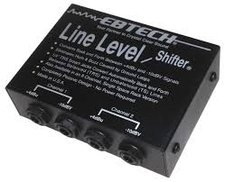 EbTech LLS-2 Two-Channel Line Level Shifter