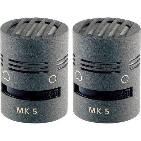 Schoeps MK5 Switchable Omni/Cardioid Capsule Matched Pair