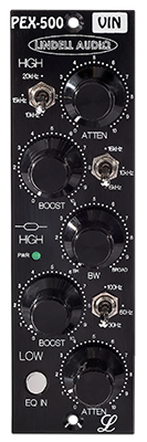 Lindell Audio PEX-500VIN 500 Series Transformer Coupled Passive EQ ON SALE