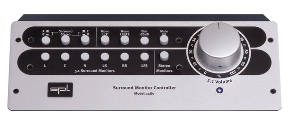 SPL SMC Stereo & 5.1 Surround Monitor Controller ON SALE