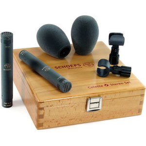 Schoeps Cardioid ST Matched Stereo Cardioid Microphone Set