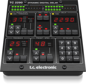 TC Electronic TC2290-DT Software Delay with Hardware Controller / Programmer