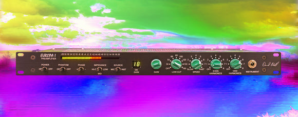 Dave Hill Designs Europa 1 Adjustable Color Preamp