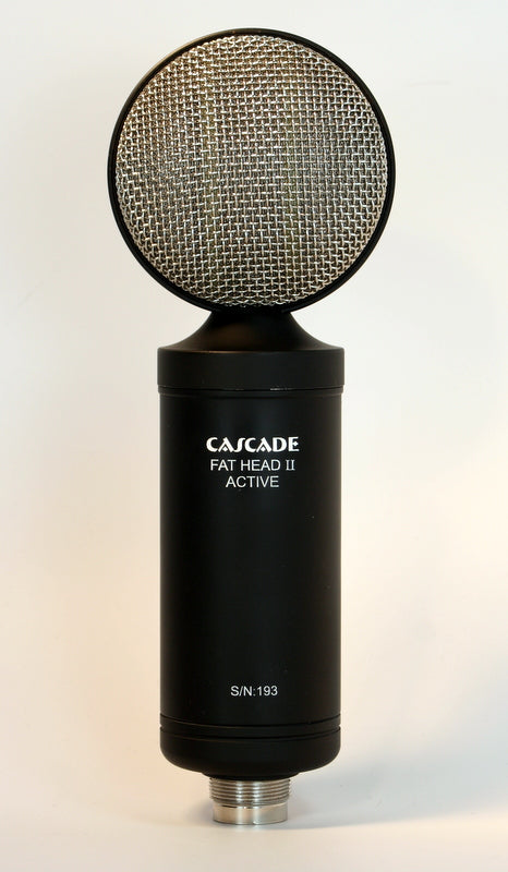 Cascade Fat Head II Active Passive Ribbon Microphone