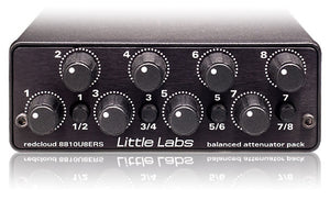 Little Labs Redcloud 8-Channel Balanced Attenuator Pack