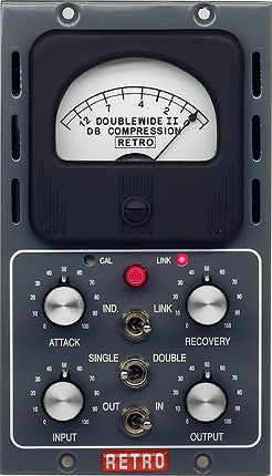 Retro Instruments Doublewide II Tube Compressor