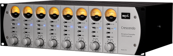 SPL Crescendo 8-Channel Mic Preamp with 120 Volt Technology