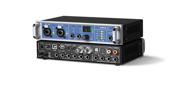 RME UCX 36-Channel 192 kHz USB & FireWire Audio Interface