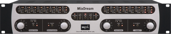 SPL Mix Dream Analog Summing with Inserts
