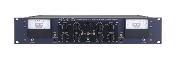 Manley Labs Stereo Variable Mu Limiter Compressor