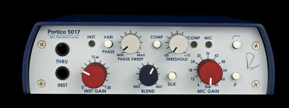 Rupert Neve Designs 5017 Mobile Pre / DI / Comp with Vari-phase