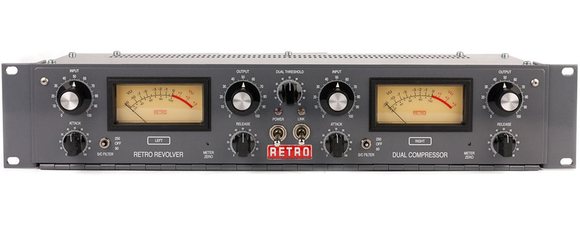 Retro Instruments Revolver Dual-Channel Tube Compressor