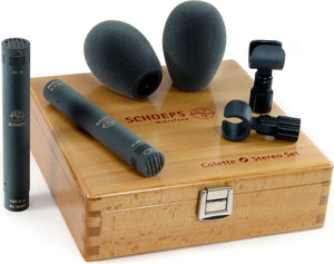 Schoeps Supercardioid ST Stereo Microphone set
