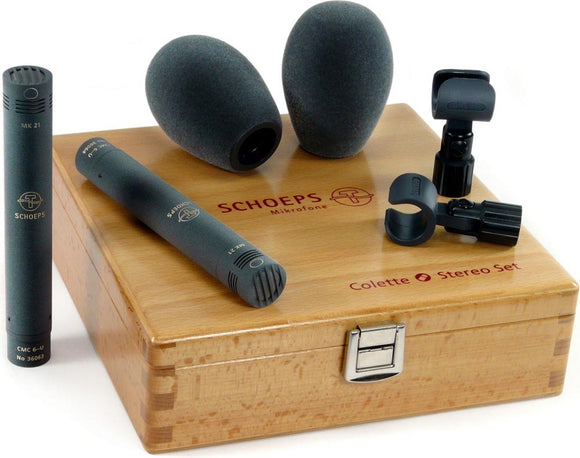 Schoeps Stereo Set 21 Wide Cardioid ST Stereo Microphone set