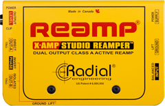 Radial X-Amp Active Re-Amplifier