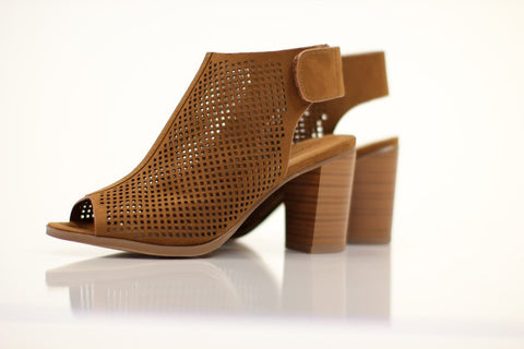 The Meet Me Peep Toe Heel by A Cut Above.