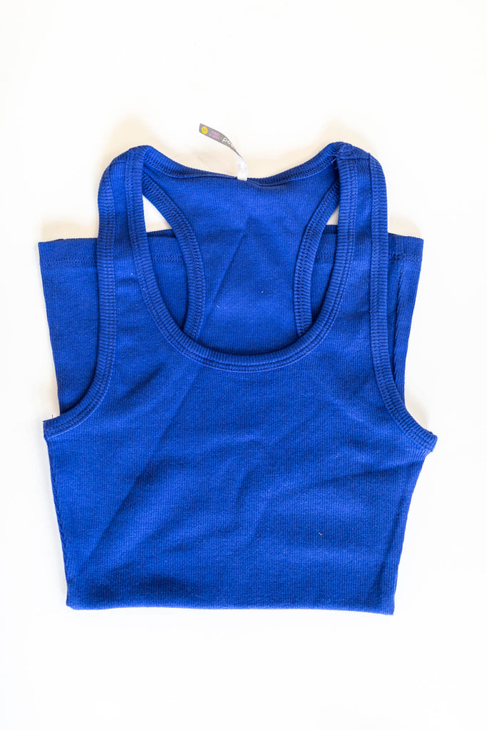 Racerback Tank - Multiple Colors - A Cut Above Boutique