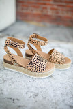 Meow Cheetah Platform Espadrille Sandals - A Cut Above Boutique