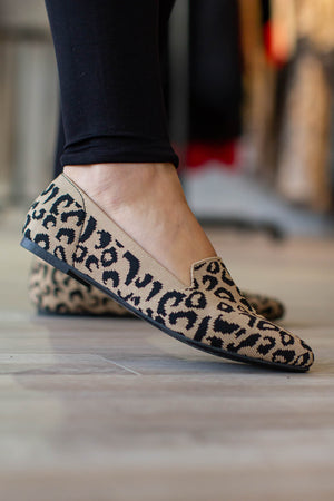 Leopard Memory Foam Loafer - A Cut Above Boutique