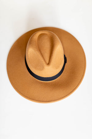 Brittney's Staple Hat - Tan - A Cut Above Boutique