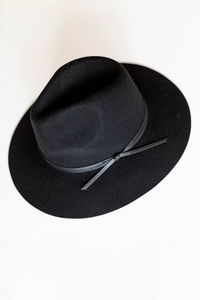 Till We Meet Again Hat - Black - A Cut Above Boutique