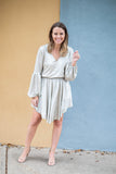 Pop The Champagne Glitzy Dress - A Cut Above Boutique