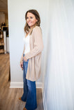 Dream Above Cardigan - Oatmeal - A Cut Above Boutique