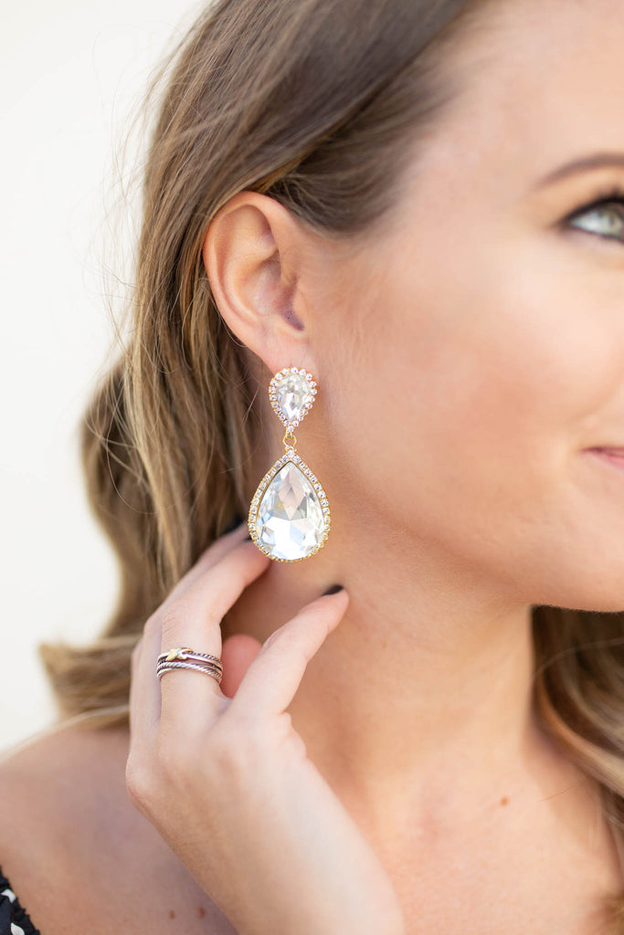 Get Glammed Up Dangle Earring - A Cut Above Boutique