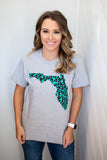 Florida Leopard Tee - A Cut Above Boutique