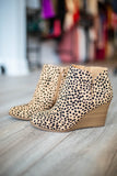Right Meow Cheetah Bootie