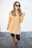 Now Or Never Sweater - Iced Latte - A Cut Above Boutique