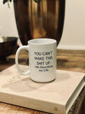 Niftae Thriftae - Describng My Life Ceramic Mug