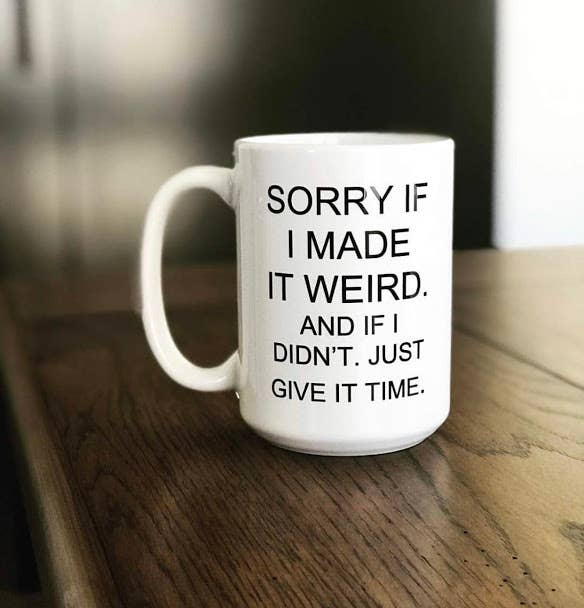 Niftae Thriftae - Made it Weird Ceramic Mug