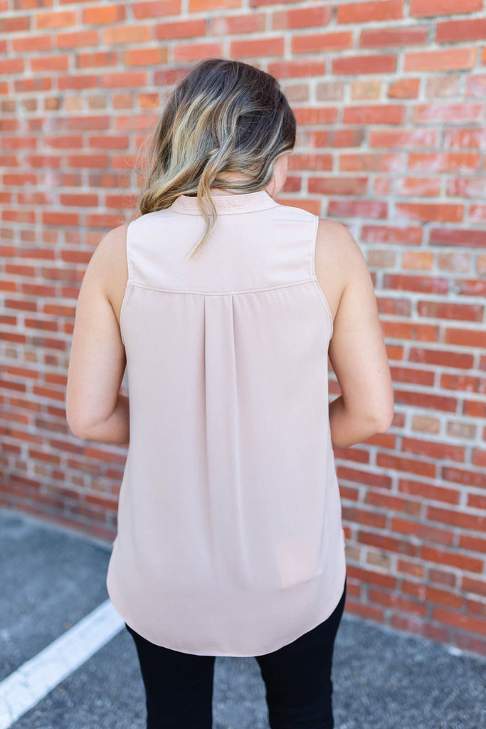 Give Me Space Tank - Taupe