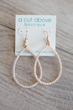 Sparkle Beaded Dangle ( Multiple Colors ) - A Cut Above Boutique
