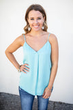 Wish Come True Tank - Milky Blue - A Cut Above Boutique