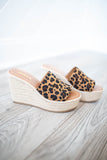 Stand Tall Leopard Espadrille Wedge - A Cut Above Boutique
