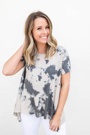 Tie Dye Swing Top - A Cut Above Boutique