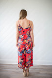 Paradise Calls Jumpsuit - Coral - A Cut Above Boutique
